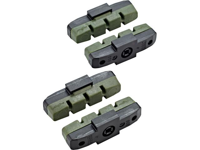 Magura HS11/HS33/HS33 R Brake Lining 2 pairs green